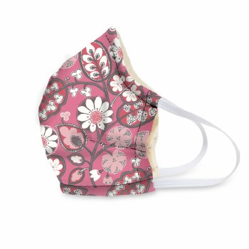 Vera Bradley Cotton Face Mask Blush Pink