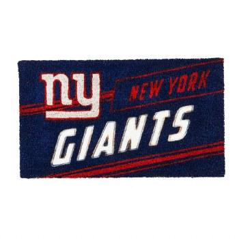 New York Giants Coir Punch Mat