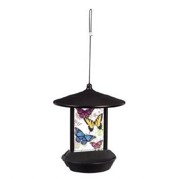 Solar Bird Feeder, Butterfly Flight