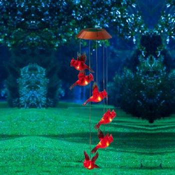 Solar Mobile, Garden Days Cardinal
