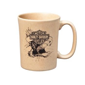 Speckle Mug Natural Eagle B&S