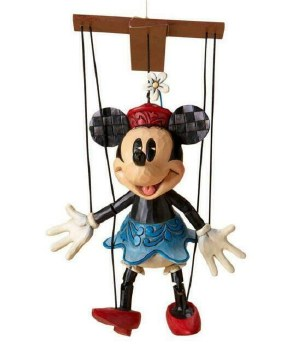Jim Shore Minnie Marionette