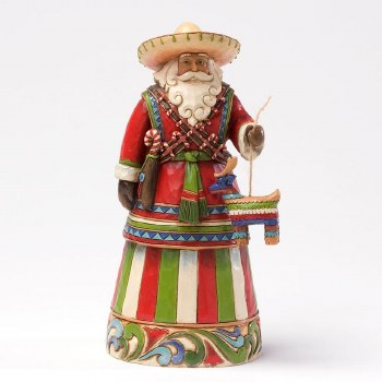 Jim Shore HWC Fig Mexican Santa