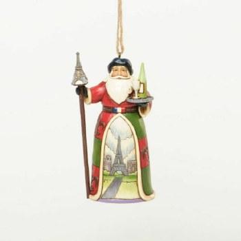 Jim Shore Hwc H/O French Santa