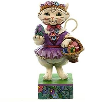 Jim Shore Easter Cat