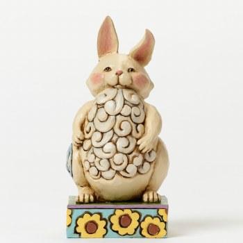 Jim Shore Everybunny Needs Somebunny - Pint-sized Lazy Bunny