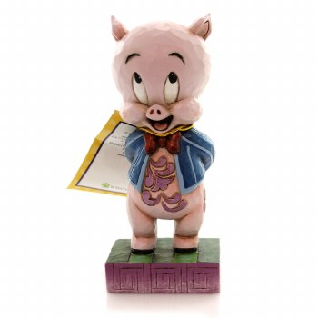 Jim Shore Porky The Pig