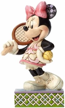 Jim Shore Tennis Minnie