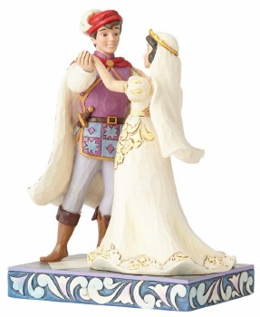 Jim Shore Traditions Wedding Snow White & Prince Figurine