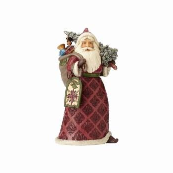 Jim Shore Heartwood Creek Dreaming of Christmas Past Santa