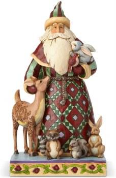 Jim Shore Santa With Animals
