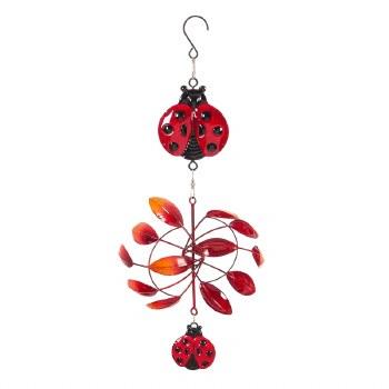 Hanging Mini Twirler, Lady Bug