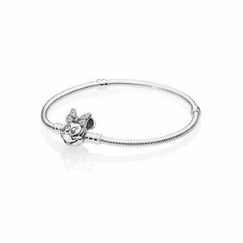 Pandora  Disney Minnie snake chain bracelet