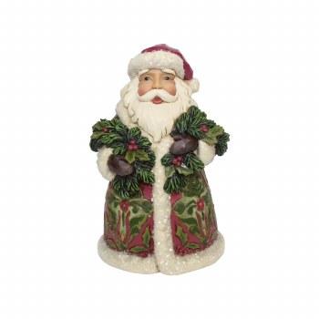 Jim Shore JS HWC Fig Vict Santa With Eve