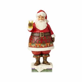 Jim Shore JS HWC Fig Craft Beer Santa