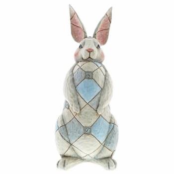 Jim Shore Heartwood Creek Grey Rabbit Garden Statue