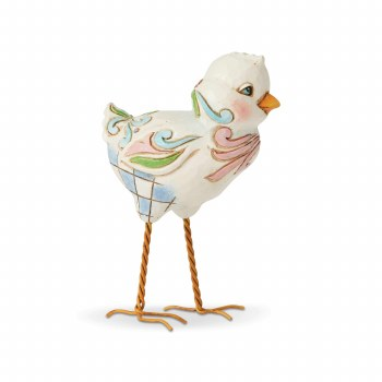 Jim Shore JS HWC Fig Standing Chick/ Min