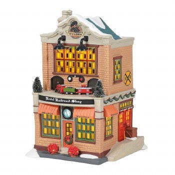 Department 56 Model Railroad Shop