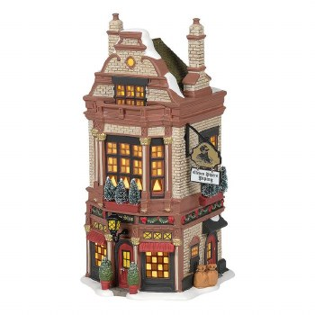 Department 56 Eleven Pipers Piping Shop