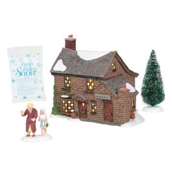 Department 56 Scrooge's Boyhood Home