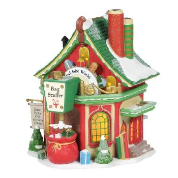 Department 56 St. Nick's Gift Sorting Center