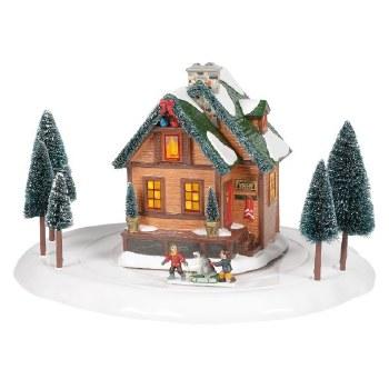 Department 56 Winter Wonderland Cabin