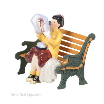 """Department 56 Rockwell's """"Cover Girl"""""""
