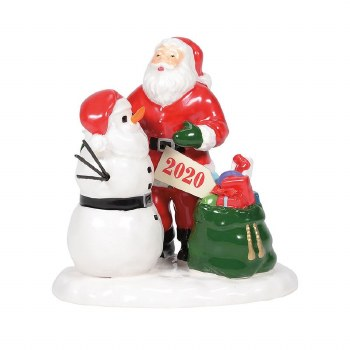 Department 56 Original Snow Village Santa Comes to Town