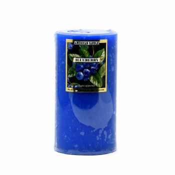 American Candle Blueberry 3X6 Pillar Candle