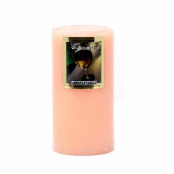 American Candle Chardonnay 3X6 Pillar Candle