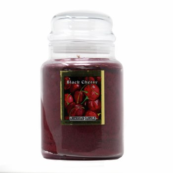 American Candle Black Cherry 22 OZ Jar Candle