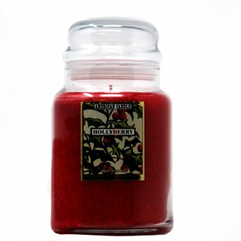 American Candle Hollyberry 22 OZ Jar Candle