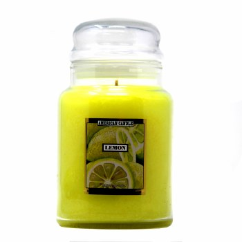 American Candle Lemon 22 OZ Jar Candle