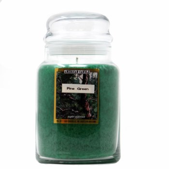 American Candle Pine Green 22 OZ Jar Candle