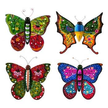 Hand Painted BoHo Butterflies