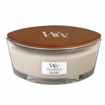 Woodwick Ellipse Jar Wood Smoke