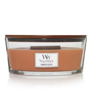 Woodwick Ellipse Jar Pumpkin Butter