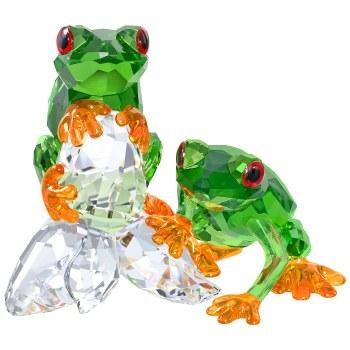 Swarovski Frogs