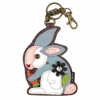 Coin Purse/KeyFob Rabbit