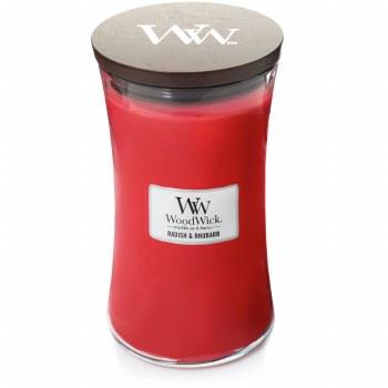 Woodwick Large Jar Radish/Rhubarb