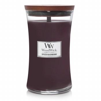 Woodwick Large Jar Spiced Blackberry
