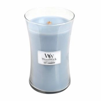 Woodwick Large Jar Soft Chambray