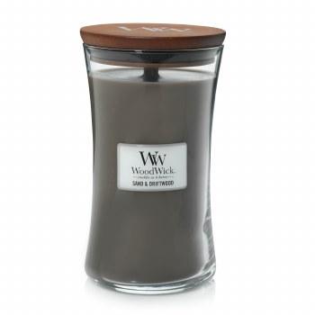 Woodwick Large Jar Sand & Driftwood