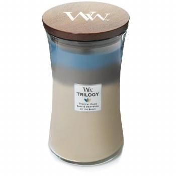 Woodwick Large Trilogy Jar Nautical Escape