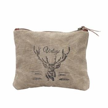 Vintage Reindeer  Small Bag