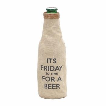 Its Friday Beer Koozie