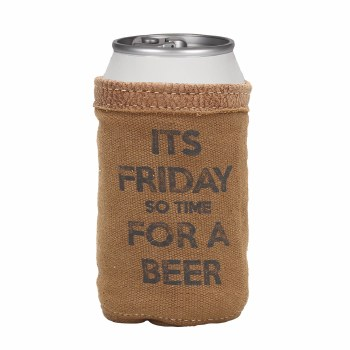 Its Friday Beer Can Koozie
