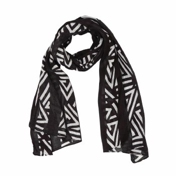 Authentic Black Scarf