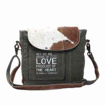 Hairon Flap Shoulder Bag