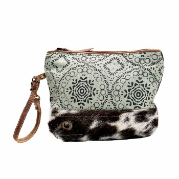 Floral Print Hairon Small Bag